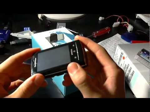 Unboxing: Sony Ericsson XPERIA X10 Mini Pro ++ GERMAN ++