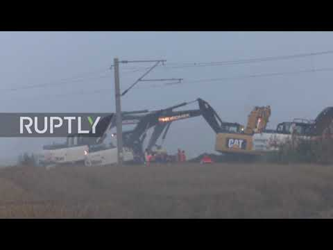 Turkey: Rescue op underway following deadly train derailment near Tekirdag