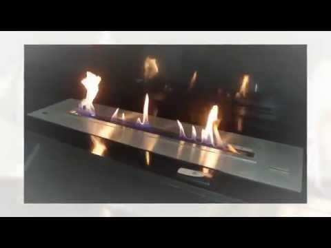 BX150 Electronic Remote Controlled Ethanol Fireplace Insert