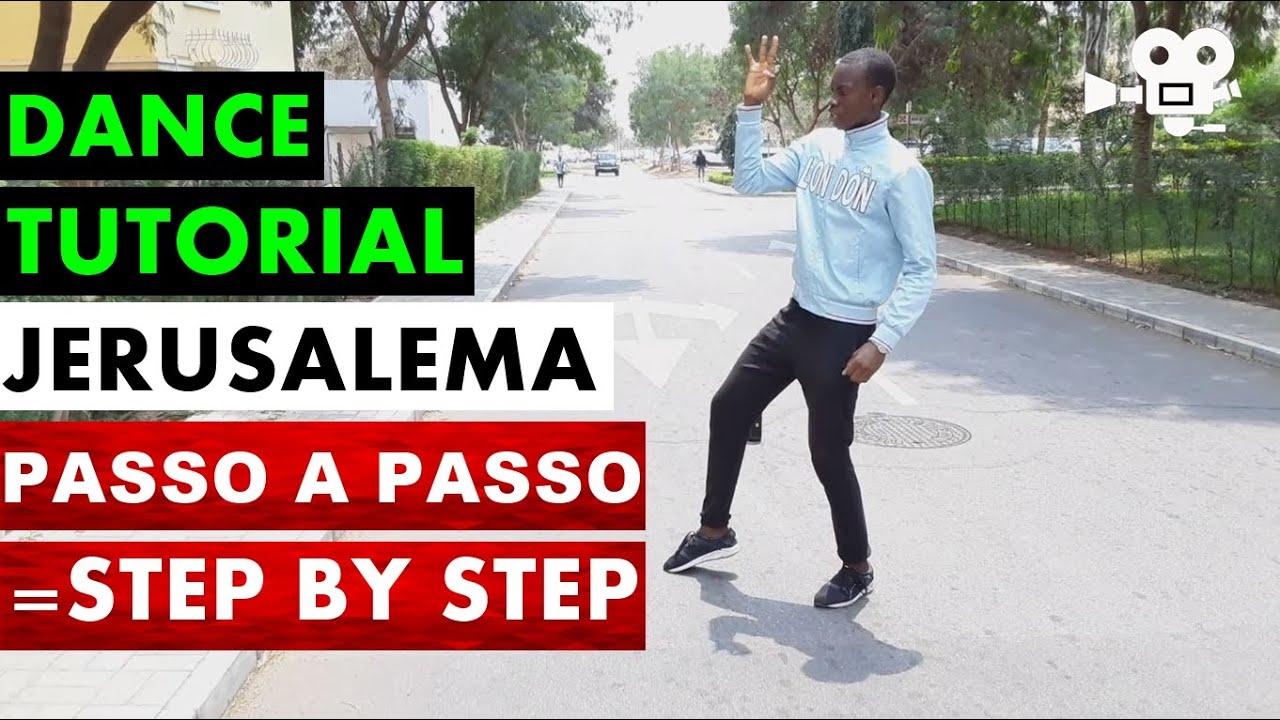 Como dançar JERUSALEMA passo a passo em portugues DANCE TUTORIAL CHALLENGE coreografia (nervanio)
