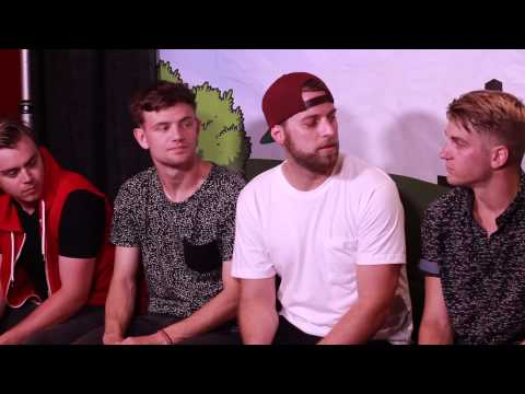 Vinyl Theatre - Interview with 101WKQX - PIQNIQ 2015