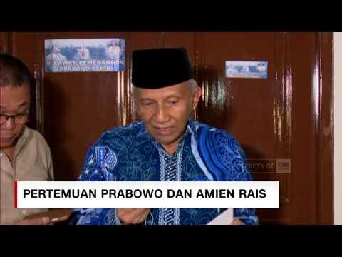 Amien Rais Ungkap Isi Pertemuannya dengan Prabowo