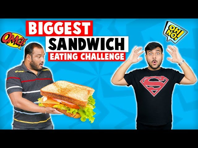 BIG CHEESE SANDWICH EATING CHALLENGE | Sandwich Eating Competition | Viwa Food World