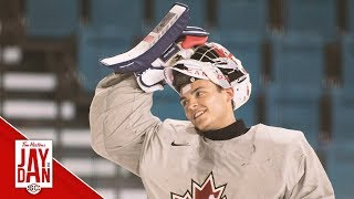 Is there a clear-cut No. 1 goaltender for Canada at the upcoming World Juniors?