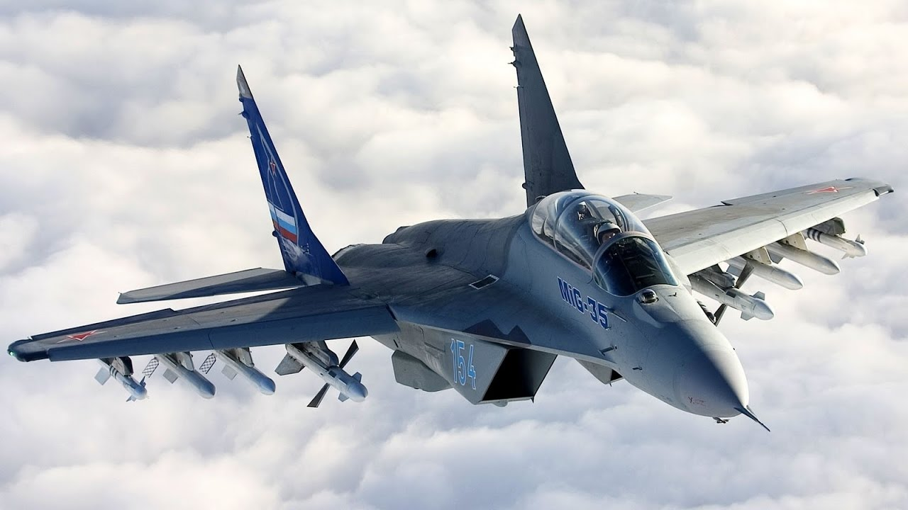 Image result for Mikoyan MiG-35 full load