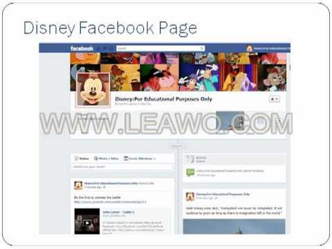 The Walt Disney Company Presentation.avi