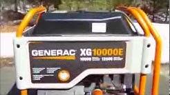 Generac XG10000E Portable Generator