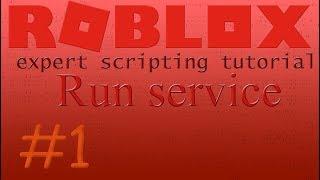 🍌#1 Roblox expert scripting tutorial   Run service