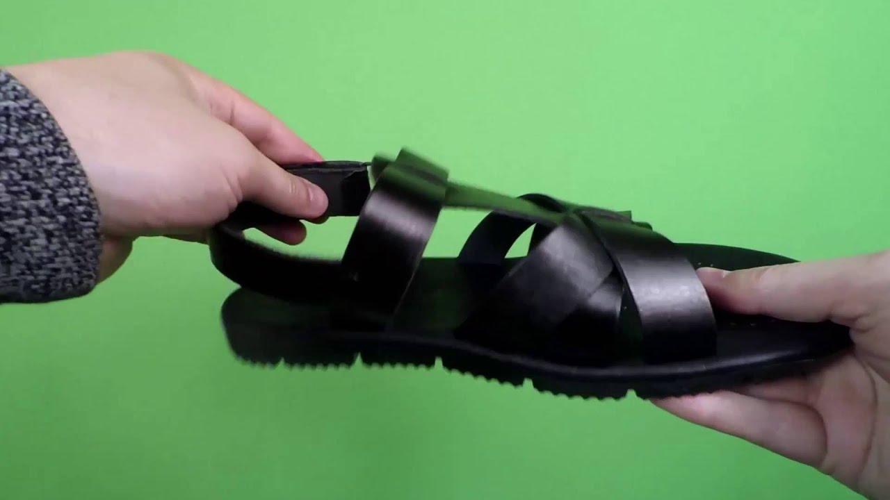 Видеообзор - Кроссовки водоотталкивающие кожаные мужские Badoxx .