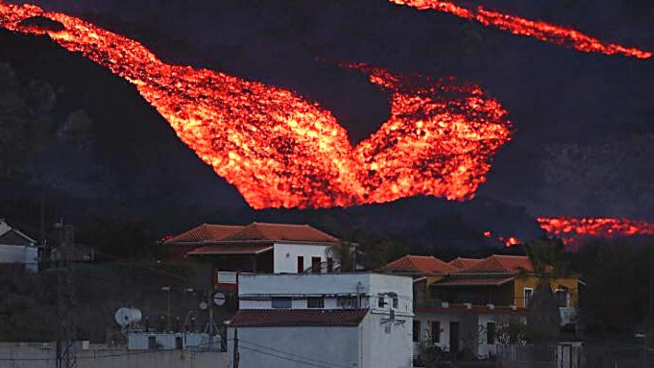 🚨 ÚLTIMA HORA: El río de lava AUMENTA su Explosividad (Volcán LA PALMA) Noticias Erupción Volcánica