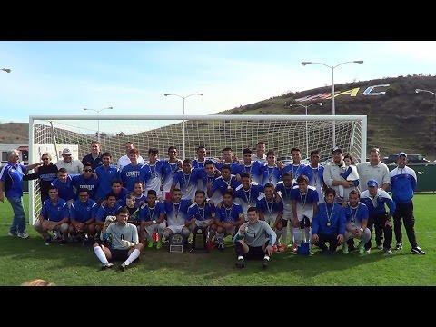 2014 Cerritos College Men's Soccer Team Win State Championship 12-07-2014