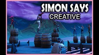 SIMON SAYS I FORTNITE CREATIVE - Fortnite på svenska!