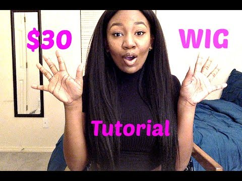 Synthetic Wig Tutorial! Outre Purple Pack Brazilian Boutique!