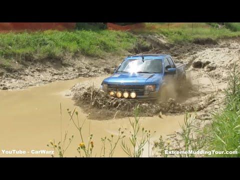 Ford Raptor Mud Bogging At Silver Willow Classic Mud Bog
