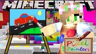 Minecraft Little Kelly-PIXEL PAINTERS - BEST ARTIST YET!