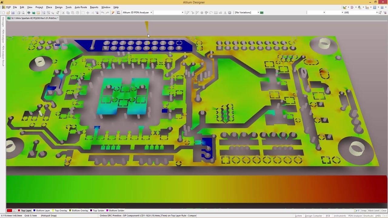 Online Circuit Board Simulator