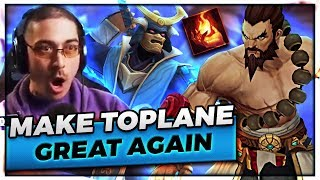 MAKING TOPLANE GREAT AGAIN | IM A %$@%@ MAN - Trick2G