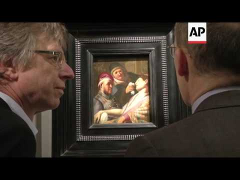 Netherlands gallery shows off 'new' Rembrandt