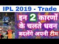IPL 2019 - Watch The 2 Reasons Why Shikhar Dhawan Wanted To Leave Sunrisers Hyderabad