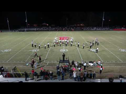 Elkmont High School Marching Band - Brooks game - October 24, 2019 (4k video)