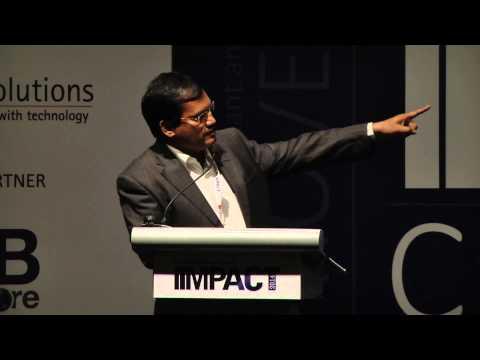 IIMPACT2014 : IiM the Disruptor, Breaking barriers Impacting Lives,Arunachalam