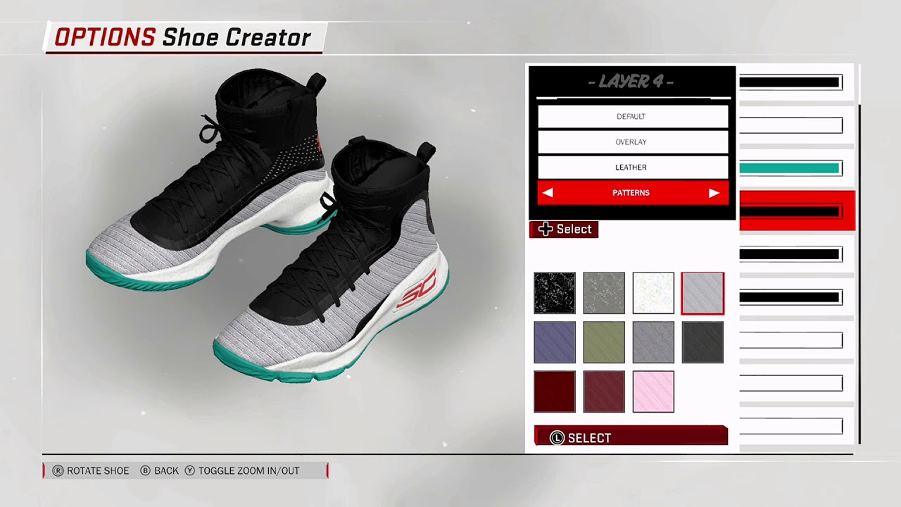 4a0d2866d47 NBA 2K18 Shoe Creator - Under Armour Curry 4