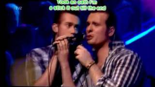 The Baseballs-Umbrella w/Lyrics sub español