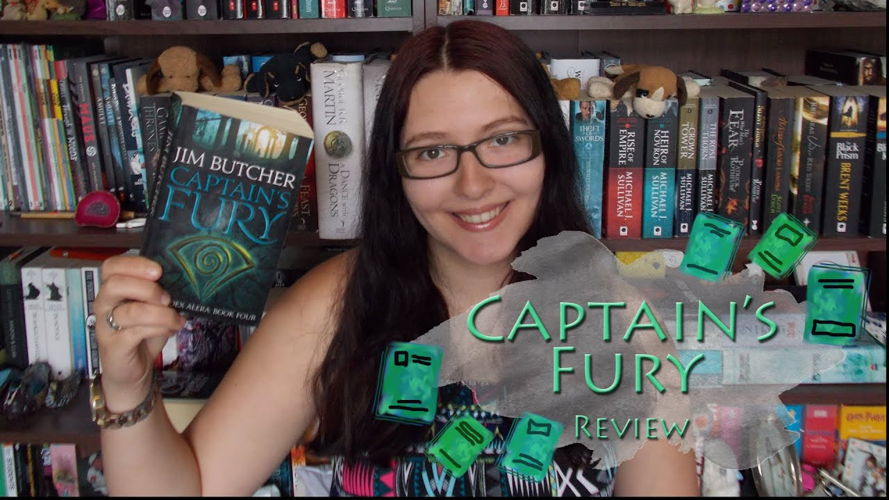 Captain's Fury (review) By Jim Butcher