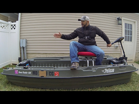 THE PELICAN BASS RAIDER 10e REVIEW!!! (MY MINI BASS BOAT)