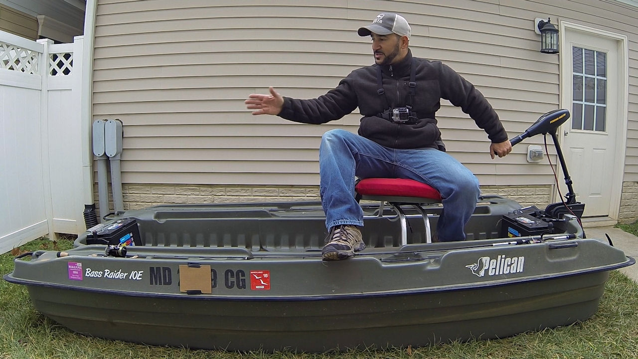 The pelican bass raider 10e review my mini bass boat for Pelican bass raider 10e fishing boat