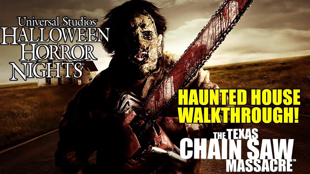 Download Texas Chainsaw Massacre Haunted House Walkthrough Halloween Horror Nights Universal Hollywood
