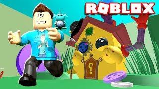 ESCAPE THE CRAZY FUNHOUSE OBBY IN ROBLOX!!! | MicroGuardian