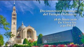 La Misa el 13th Domingo del Tiempo Ordinario