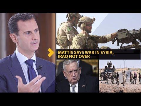 Mattis Says War in Syria, Iraq NOT Over