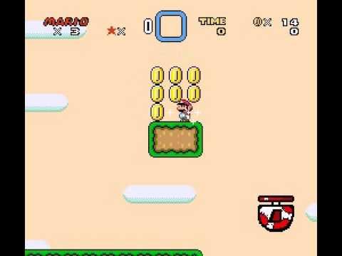 Super Mario World - Custom sprites test