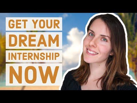 #3: How to get your DREAM biology internship