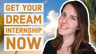 How to get your DREAM biology internship // Career Series