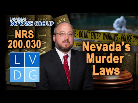 """How do I fight """"murder"""" charges in Nevada?"""