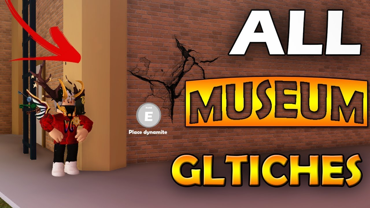 All New Glitches In Jailbreak Museum 2018 Roblox Youtube