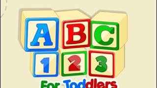 ABC 123 For Toddlers - Counting Number 1 To 20 and Learn Alphabet A To Z