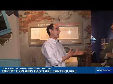 Cleveland Museum of Natural History expert explains Eastlake earthquake