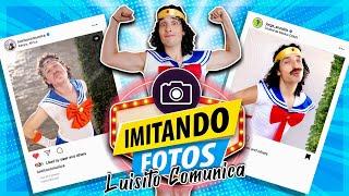 IMITANDO FOTOS DE LUISITO COMUNICA - ME CONVIERTO EN SAILOR MOON 😡