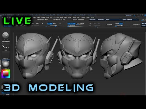 Making an Action Figure from Scratch | 3d Modeling in ZBrush | 16