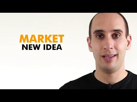 Marketing Strategies - How to market a new concept