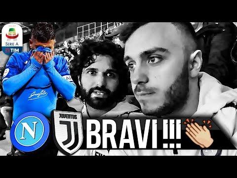 👏BRAVI!!! NAPOLI 1-2 JUVENTUS | LIVE REACTION SAN PAOLO HD