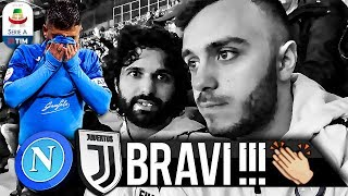 👏BRAVI!!! NAPOLI 1-2 JUVENTUS | LIVE REACTION SAN PAOLO HD