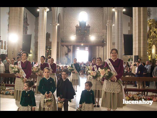 Vídeo-noticia: Ofrenda de Flores a María Stma. de Araceli  Fiestas 2016