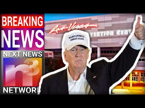 Trump BLOWS THE ROOF OFF of Las Vegas Convention Center