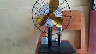 Cara Membuat Kipas Angin Sederhana