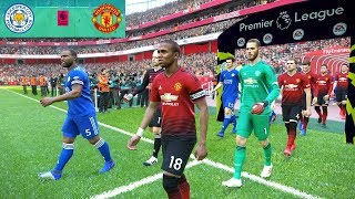 Leicester City vs Manchester United - Premier League 03/02/2019 Gameplay